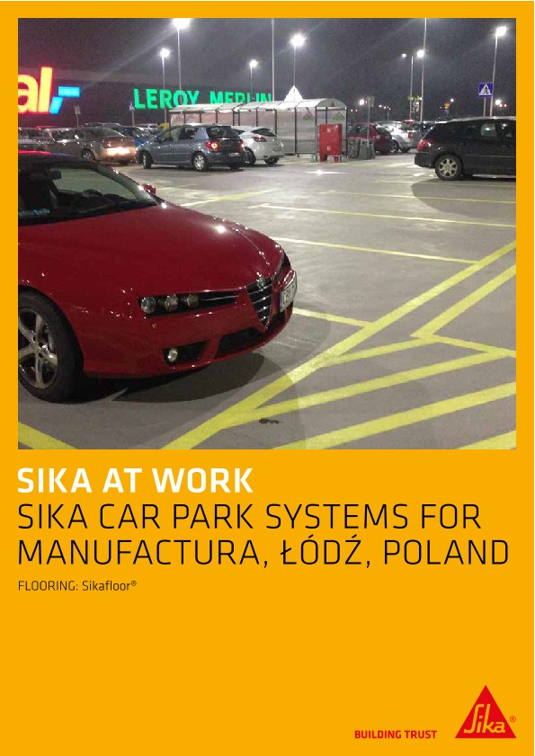 Car Park Systems for Manufaktura Shopping Center in Lodz, Poland